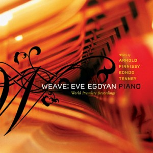 CD Cover: 'Weave' by Eve Egoyan